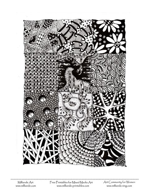 zentangle pattern websites beginner zentangle patterns to print car interior design