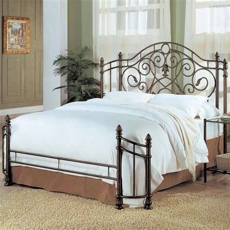 Iron Headboards King Awesome Antique Green Iron Bed Bedroom Furniture Ebay