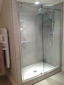 sliding shower door system pars glass