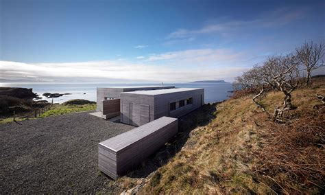 Contemporary Home Interior Design driveway entrance contemporary home on the isle of skye