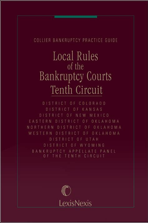 local rules of the bankruptcy courts 10th circuit