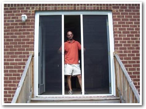 Installing A Sliding Screen Door by Sw Howell Contracting Virginia Screen Doors