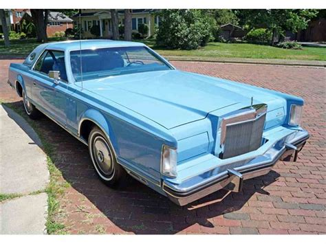 lincoln v 1978 1978 lincoln continental v for sale classiccars