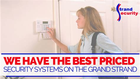 security strand security systems myrtle