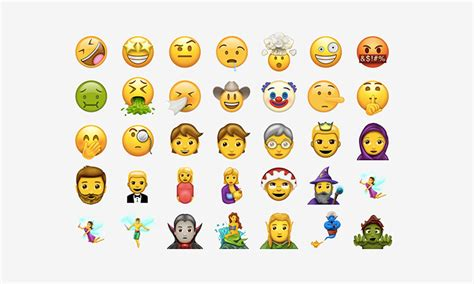 new iphone emojis emoji here s every single new emoji coming this june