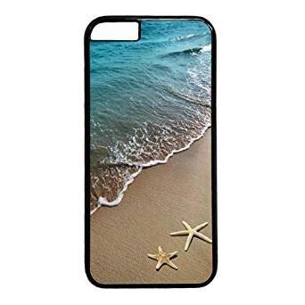 themes iphone 6s plus amazon com beach starfish theme case for iphone 6 6s plus