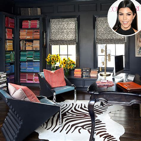 kourtney s tips for a stylish home office