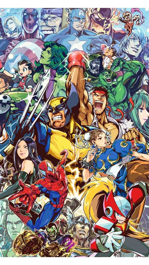 quality marvel  capcom wallpapers video games desktop background