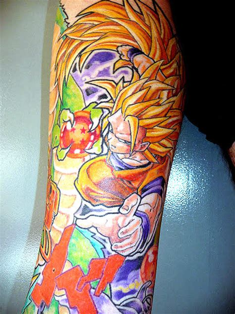 tatuagem nerd dragon ball z