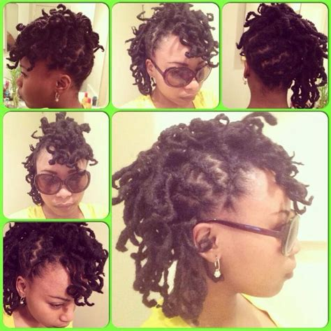 black women mohawk hairstyles and dreads in the middle 128 best images about short loc styles on pinterest loc