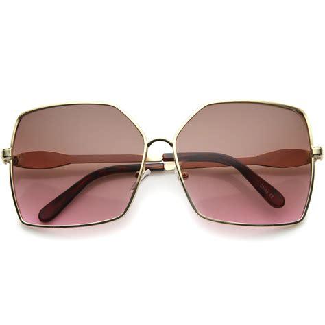 Image result for womens square sunglasses gradient lenses