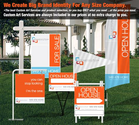open house real estate signs deesign real estate signs open house signs name riders feather flags