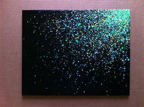 how to splatter acrylic paint on a canvas 16x20 paint splatter canvas