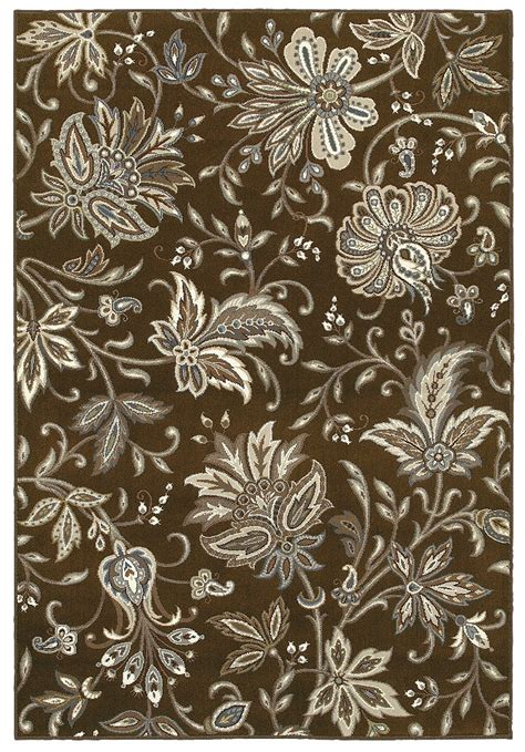 Shaw Living Medallion Area Rug Area Rug By Shaw Floors In Style Quot Jillian S Garden Quot Color Brown Crayola Colors Brown
