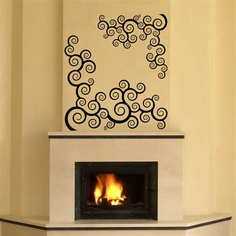 Fireplace Wall Decal fireplace wall decal afro wall decal by chamberdecals on