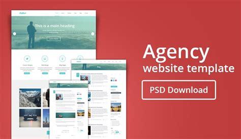 Web Agency Template Free Agency Web Template