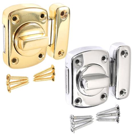 bathroom door latch bathroom door lock chrome or brass toilet turn twist bolt