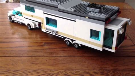 tutorial lego fifth wheel lego fifth wheel cer and truck youtube