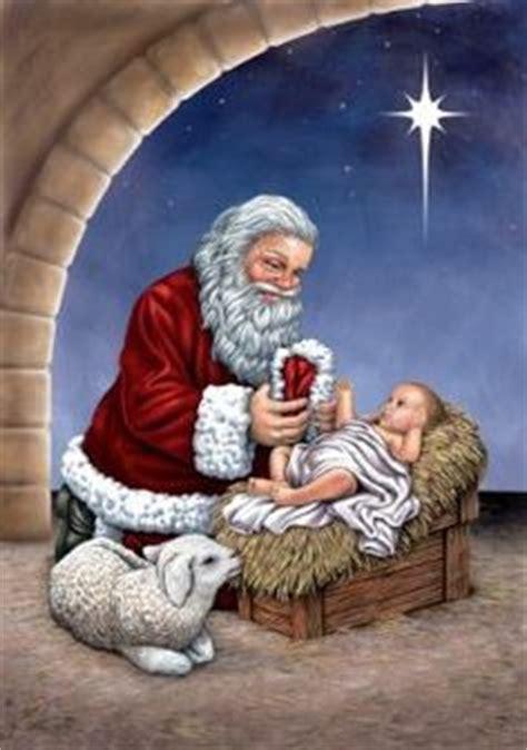 christmas clipart santa  jesus clipground