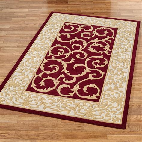 scroll area rug regal scroll traditional wool area rugs
