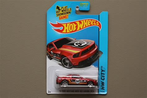 wheels 2014 hw city 12 ford mustang 302 laguna seca
