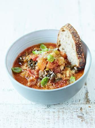 vegetable soup recipes oliver minestrone soup food revolution oliver