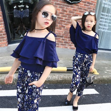 sets clothes fashion tops floral two