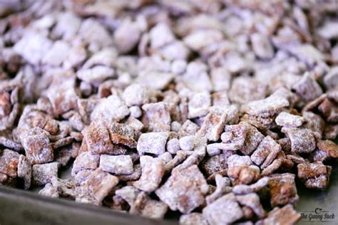 puppy chow recipe microwave s mores muddy buddies the gunny sack