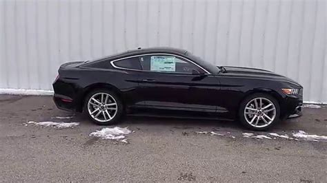 2016 Ford Mustang Ecoboost 2 3l shadow black 2016 mustang ecoboost fastback premium 2 3l