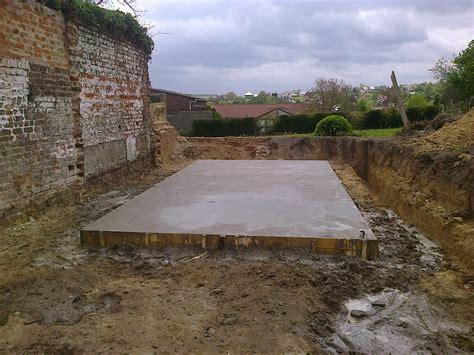Beton Voor Fundering by Gegoten Beton Als Fundering Voor Een Tuinhuis Tuinen De