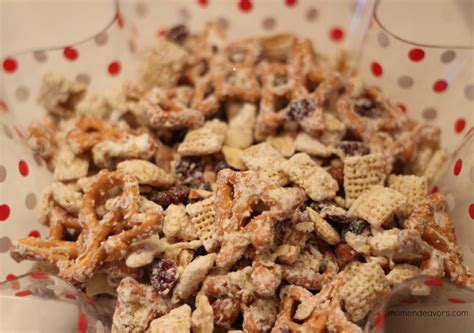 white chocolate chex mix aka christmas crack