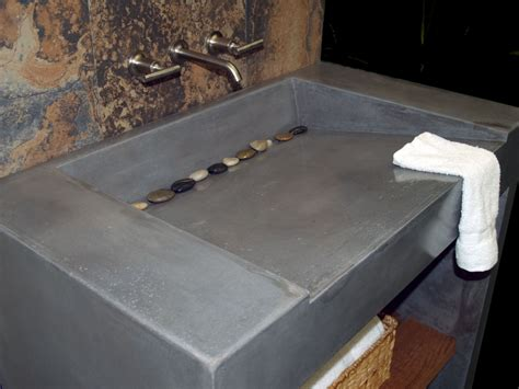 Concrete Sinks And Countertops by Custom Concrete Vanity And Sink By Coastal Concrete Design