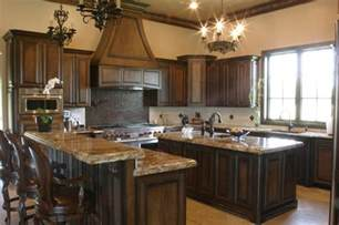 Kitchen Paint Colors With Wood Cabinets by Two Tones Style With Kitchen Colors With Dark Wood