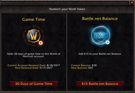 Battle Net Balance Gift Card - now you can redeem battle net balance with wow token offgamers blog