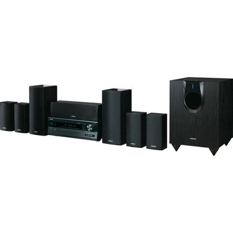 onkyo ht s5300 7 1 channel home theater system ht s5300 b h