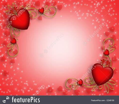 holidays valentine hearts  cupids background stock