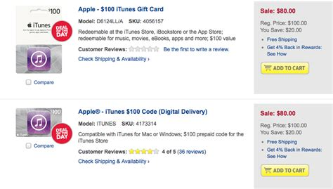Where To Buy Itunes Gift Cards Discount - best buy offering 20 discount on itunes gift card today