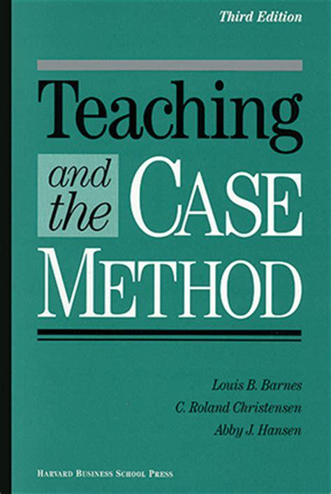 Mba Teaching Methods by Nestle Study Harvard Business School Putting