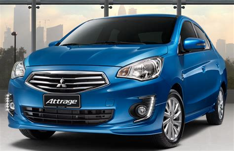 kereta mitsubishi attrage mitsubishi attrage dilancarkan di malaysia harga