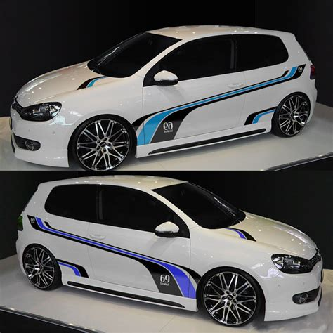 Vw Goal Aufkleber by Noricarc Sport Styling Customized Whole Stickers Racing