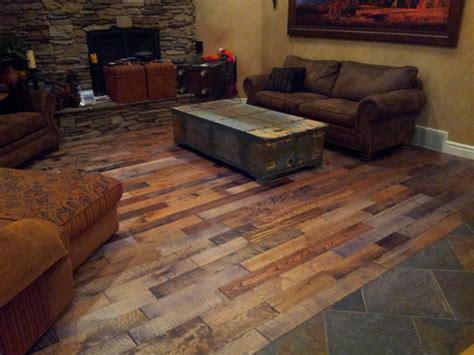 hand scraped mixed specie wood planks rustic hardwood flooring salt lake city by wood