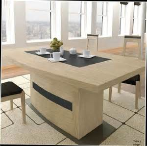table salle a design pied central valdiz