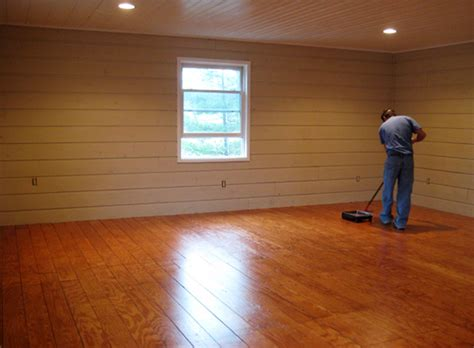 How To Make Your Own Plywood Plank Flooring for $1.00