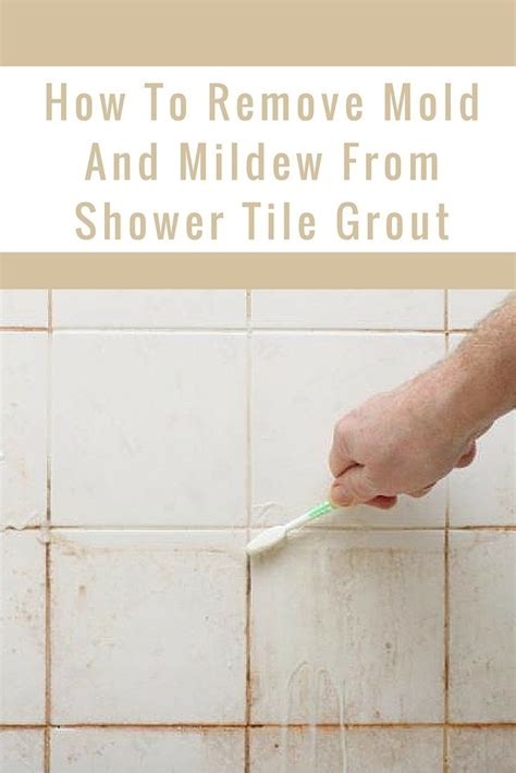 25 best ideas about remove mold on grout and