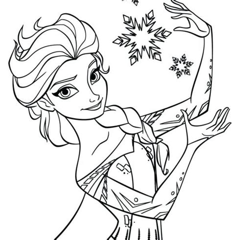 cute elsa coloring pages elsa coloring pages printable kids coloring page