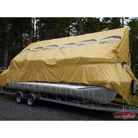 navigloo pontoon boat covers cover for pontoon 19 22 189 ft with tarp 19x32