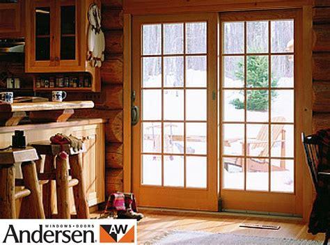 patio doors andersen andersen aluminium clad wood sliding doors gallery