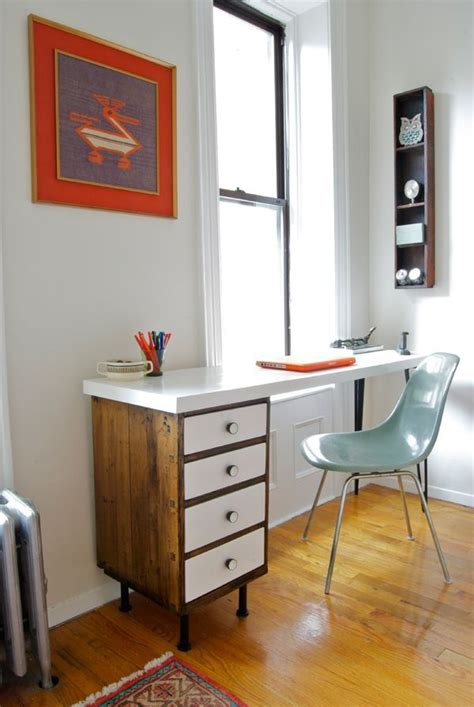 diy desk using file cabinets a diy desk refinished wood top wit found filing cabinets