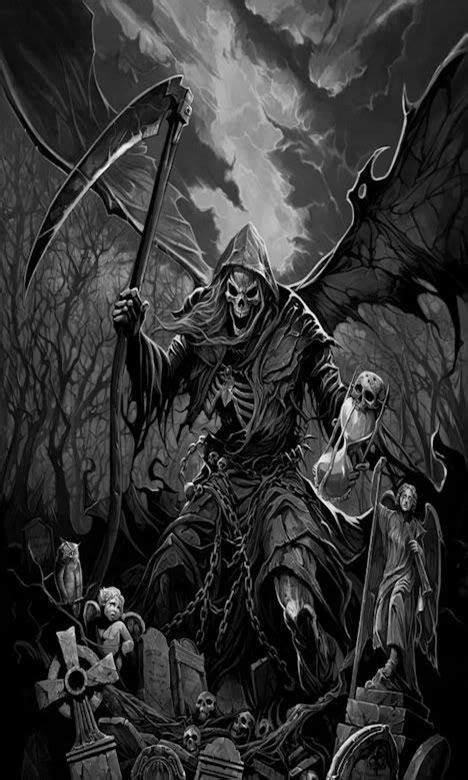 evil reaper drawings www pixshark com images galleries