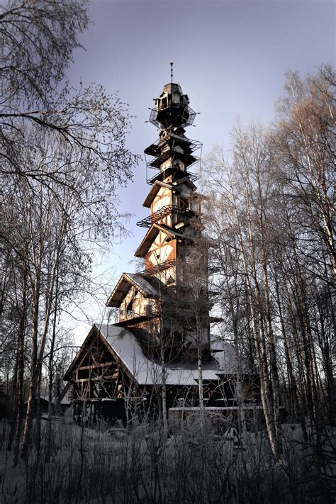 Home Design Story Weekly Update by A Towering Home In The Alaskan Wilderness Looks Like